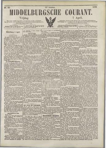 Middelburgsche Courant 1899-04-07