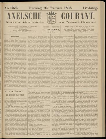 Axelsche Courant 1898-11-23