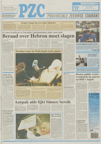 Provinciale Zeeuwse Courant 1996-10-07