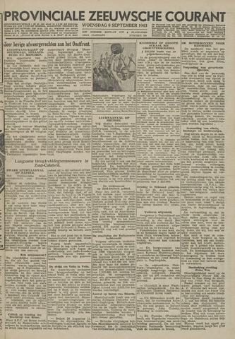 Provinciale Zeeuwse Courant 1943-09-08