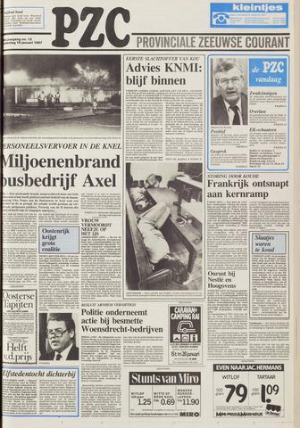 Provinciale Zeeuwse Courant 1987-01-15