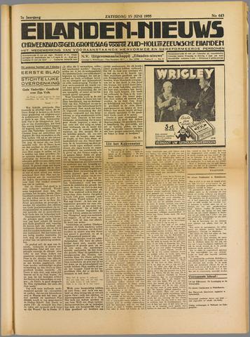 Eilanden-nieuws. Christelijk streekblad op gereformeerde grondslag 1935-06-15