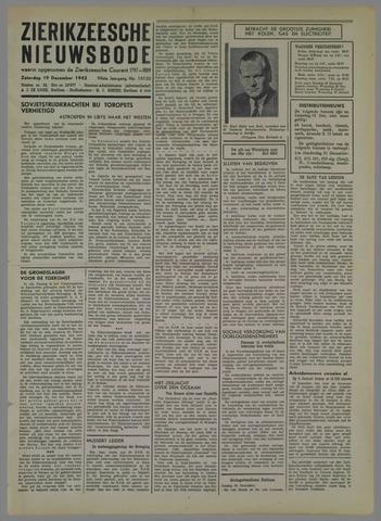 Zierikzeesche Nieuwsbode 1942-12-19