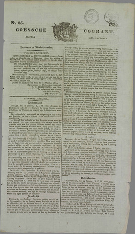 Goessche Courant 1839-10-25