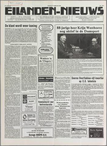 Eilanden-nieuws. Christelijk streekblad op gereformeerde grondslag 1985-02-15