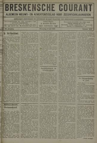 Breskensche Courant 1920-07-14