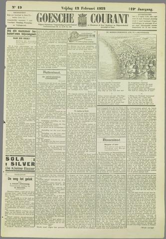 Goessche Courant 1932-02-12