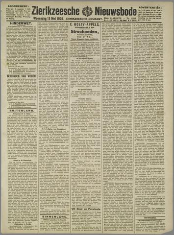 Zierikzeesche Nieuwsbode 1925-05-13