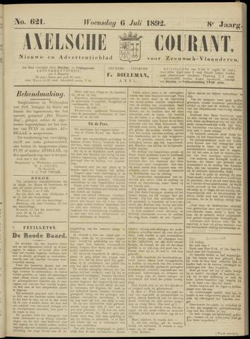 Axelsche Courant 1892-07-06