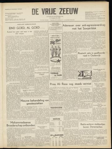 de Vrije Zeeuw 1954-10-30