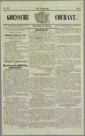 Goessche Courant 1859-03-21