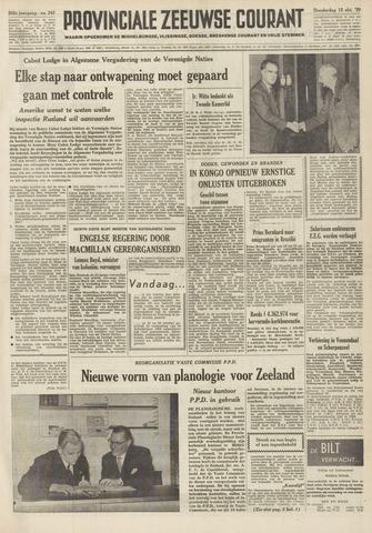 Provinciale Zeeuwse Courant 1959-10-15
