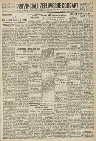 Provinciale Zeeuwse Courant 1946-06-12