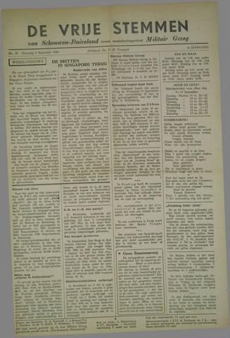 Vrije Stemmen van Schouwen-Duiveland, tevens mededeelingenblad Militair Gezag 1945-09-08