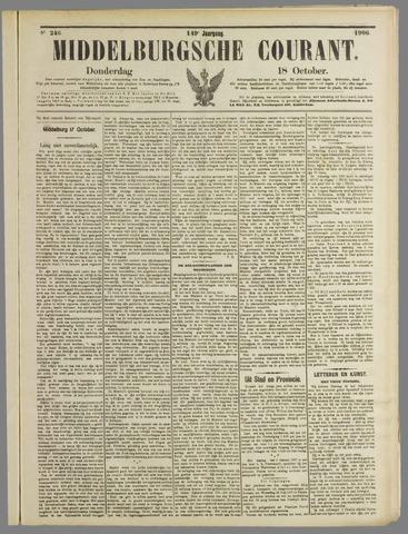 Middelburgsche Courant 1906-10-18