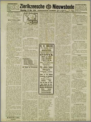 Zierikzeesche Nieuwsbode 1924-05-12
