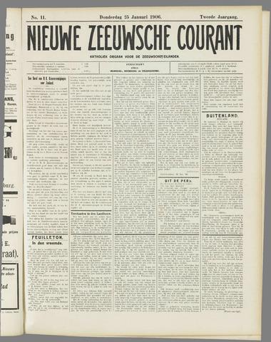 Nieuwe Zeeuwsche Courant 1906-01-25