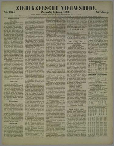 Zierikzeesche Nieuwsbode 1882-06-03