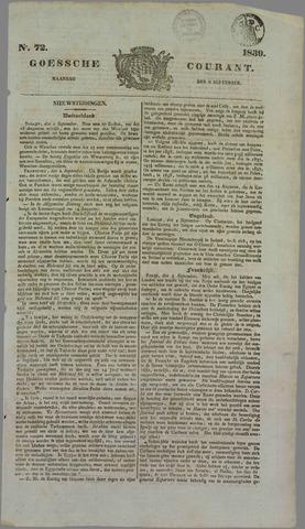 Goessche Courant 1839-09-09