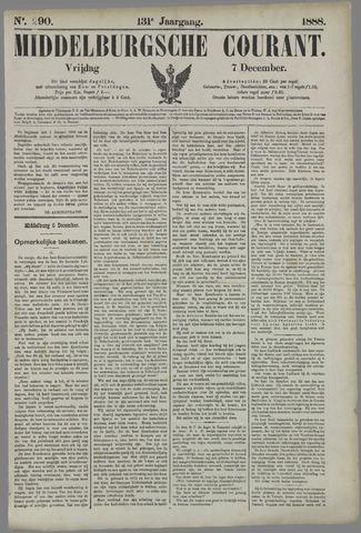Middelburgsche Courant 1888-12-07