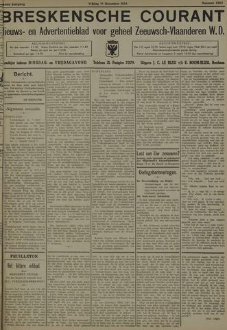 Breskensche Courant 1934-12-14