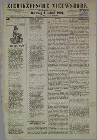 Zierikzeesche Nieuwsbode 1890