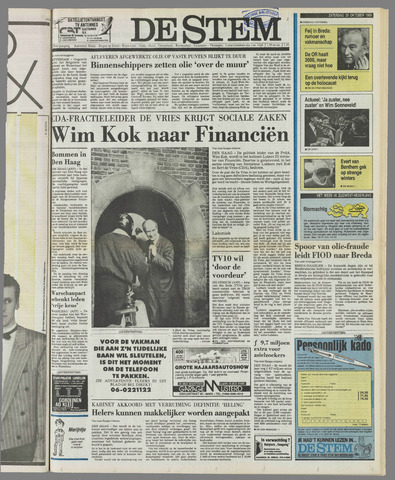 de Stem 1989-10-28