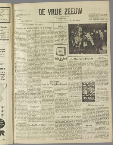 de Vrije Zeeuw 1961-02-22