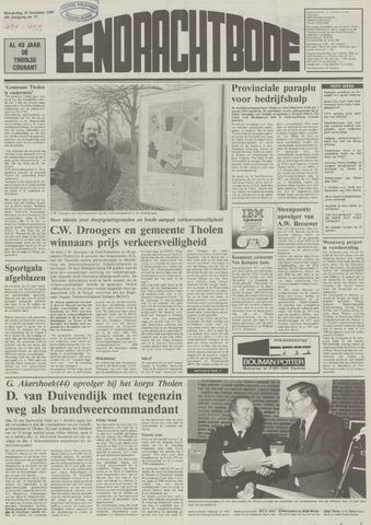Eendrachtbode (1945-heden)/Mededeelingenblad voor het eiland Tholen (1944/45) 1989-12-14