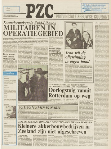 Provinciale Zeeuwse Courant 1979-03-01