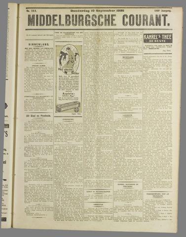 Middelburgsche Courant 1925-09-10
