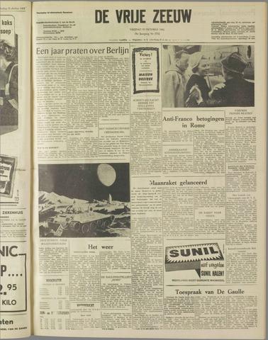 de Vrije Zeeuw 1962-10-19
