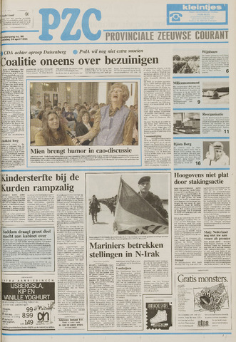 Provinciale Zeeuwse Courant 1991-04-24