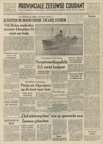 Provinciale Zeeuwse Courant 1961-10-19