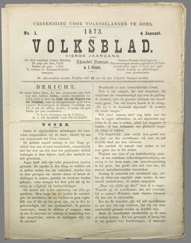 Volksblad 1873