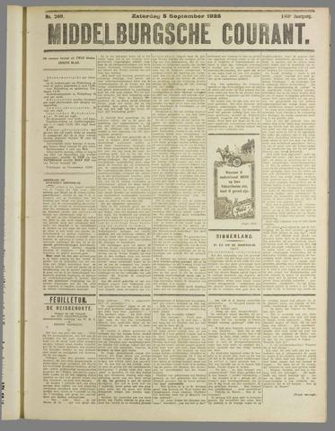 Middelburgsche Courant 1925-09-05