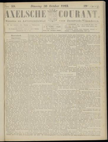 Axelsche Courant 1923-10-30