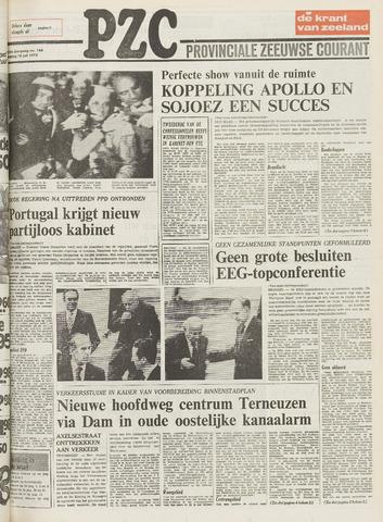 Provinciale Zeeuwse Courant 1975-07-18