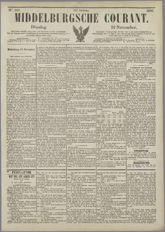 Middelburgsche Courant 1895-11-12