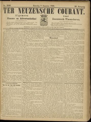 Ter Neuzensche Courant. Algemeen Nieuws- en Advertentieblad voor Zeeuwsch-Vlaanderen / Neuzensche Courant ... (idem) / (Algemeen) nieuws en advertentieblad voor Zeeuwsch-Vlaanderen 1896-08-08