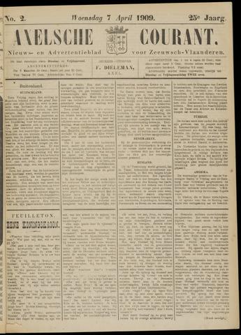 Axelsche Courant 1909-04-07