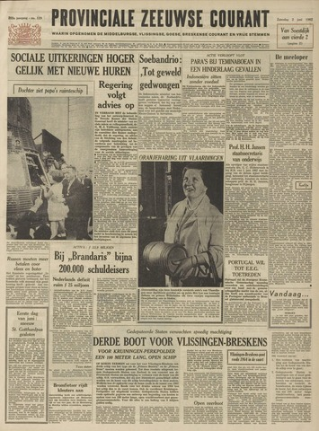 Provinciale Zeeuwse Courant 1962-06-02