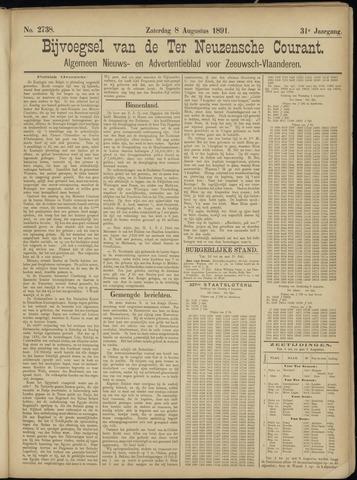 Ter Neuzensche Courant. Algemeen Nieuws- en Advertentieblad voor Zeeuwsch-Vlaanderen / Neuzensche Courant ... (idem) / (Algemeen) nieuws en advertentieblad voor Zeeuwsch-Vlaanderen 1891-08-08