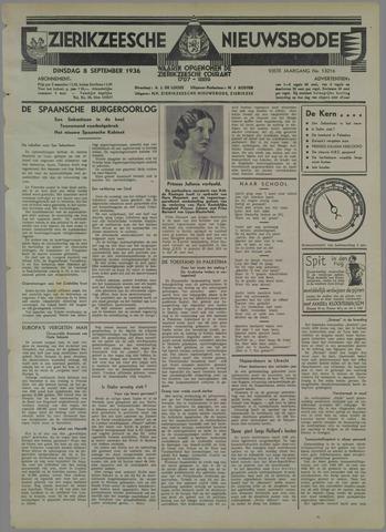 Zierikzeesche Nieuwsbode 1936-09-08