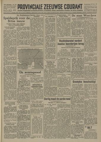 Provinciale Zeeuwse Courant 1948-02-19