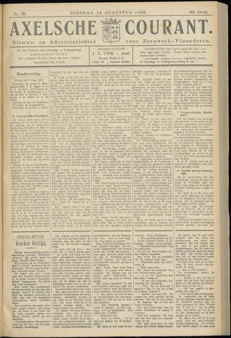 Axelsche Courant 1930-08-12