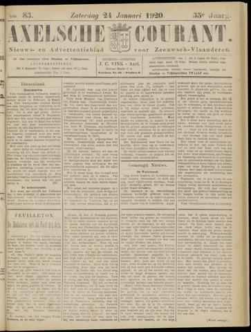 Axelsche Courant 1920-01-24