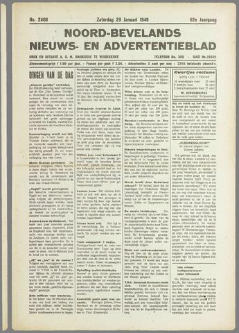 Noord-Bevelands Nieuws- en advertentieblad 1949-01-29