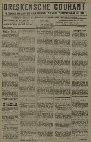 Breskensche Courant 1924-09-13