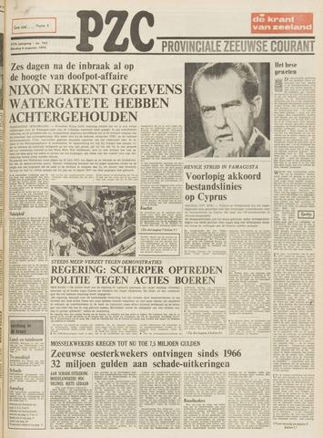 Provinciale Zeeuwse Courant 1974-08-06
